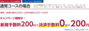 iサイクル注文決済手数料無料キャンペーン-10,000通貨-